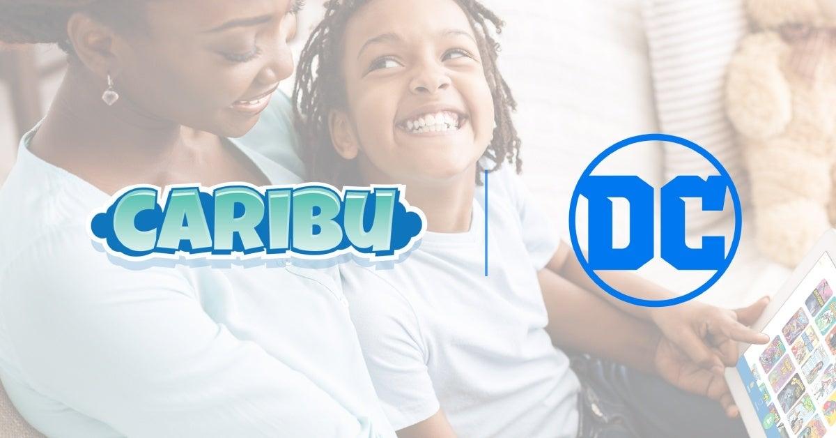dc comics kids caribu partnership