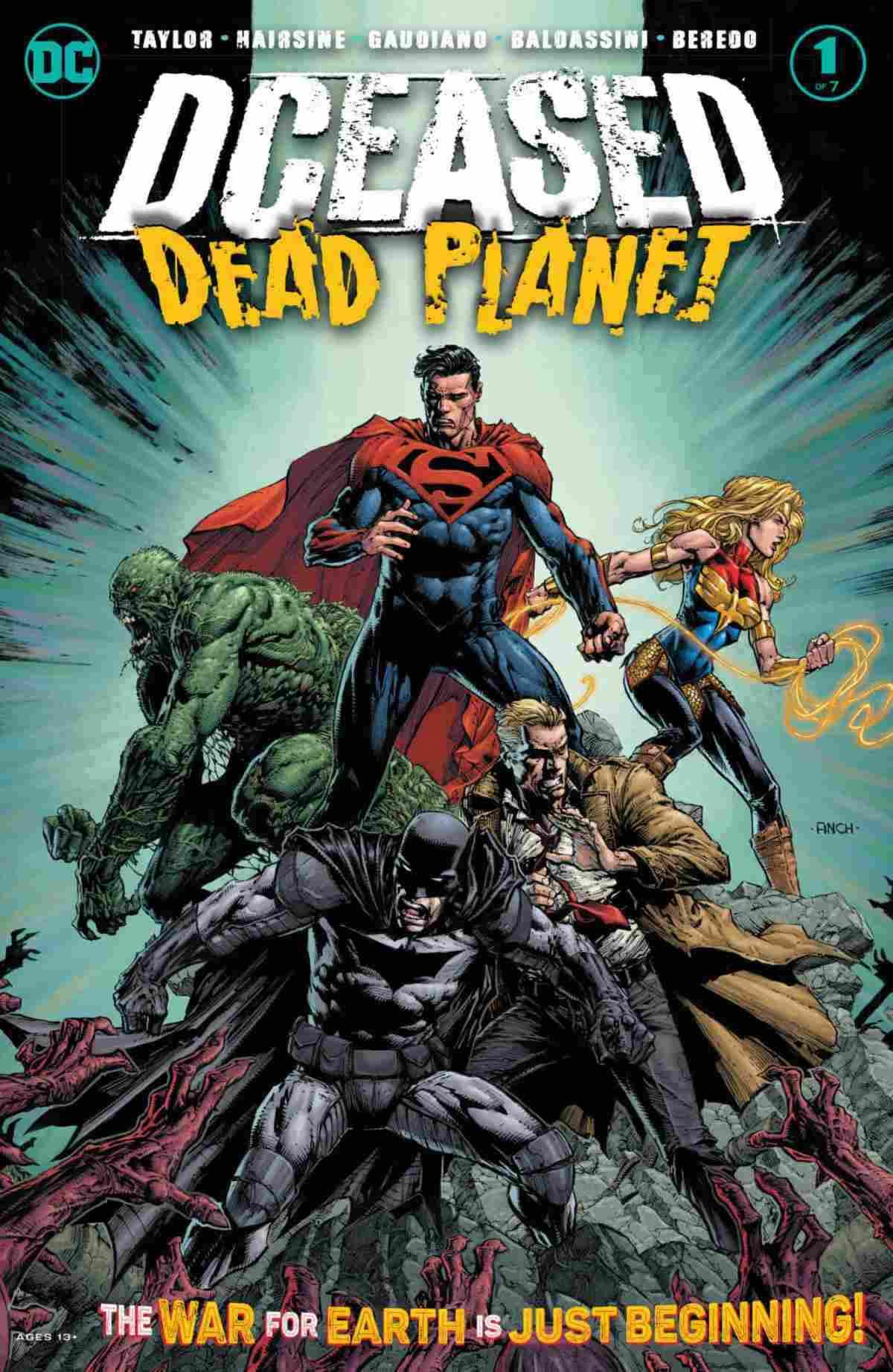 DCeased Dead Planet #1