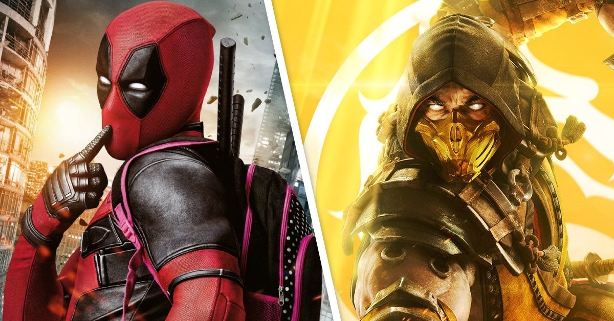 deadpool mortal kombat