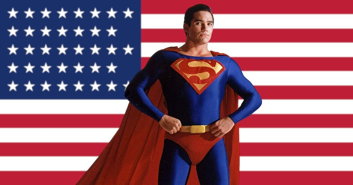 Dean Cain Says Superman Cant Say Truth Justice AMerican Way Today