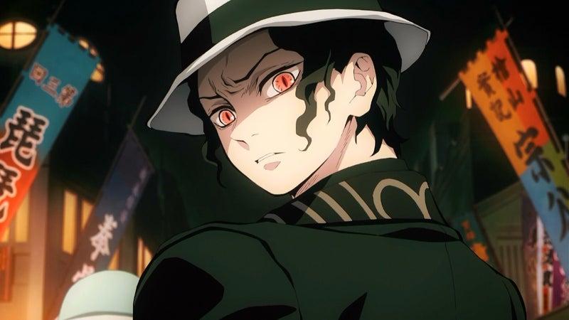 Demon Slayer - Muzan_encountering_Tanjiro
