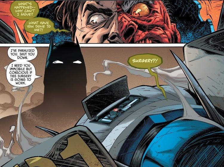 detective comics 1024 batman two face brain surgery 2