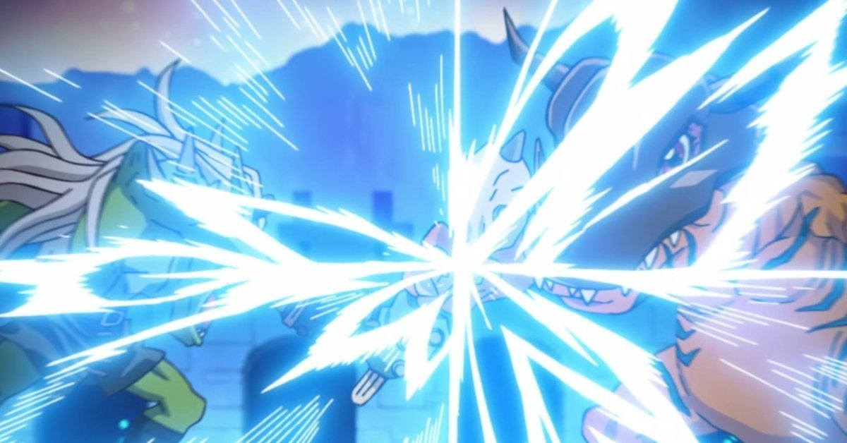 Digimon Adventure 2020 Greymon Ogremon Rematch