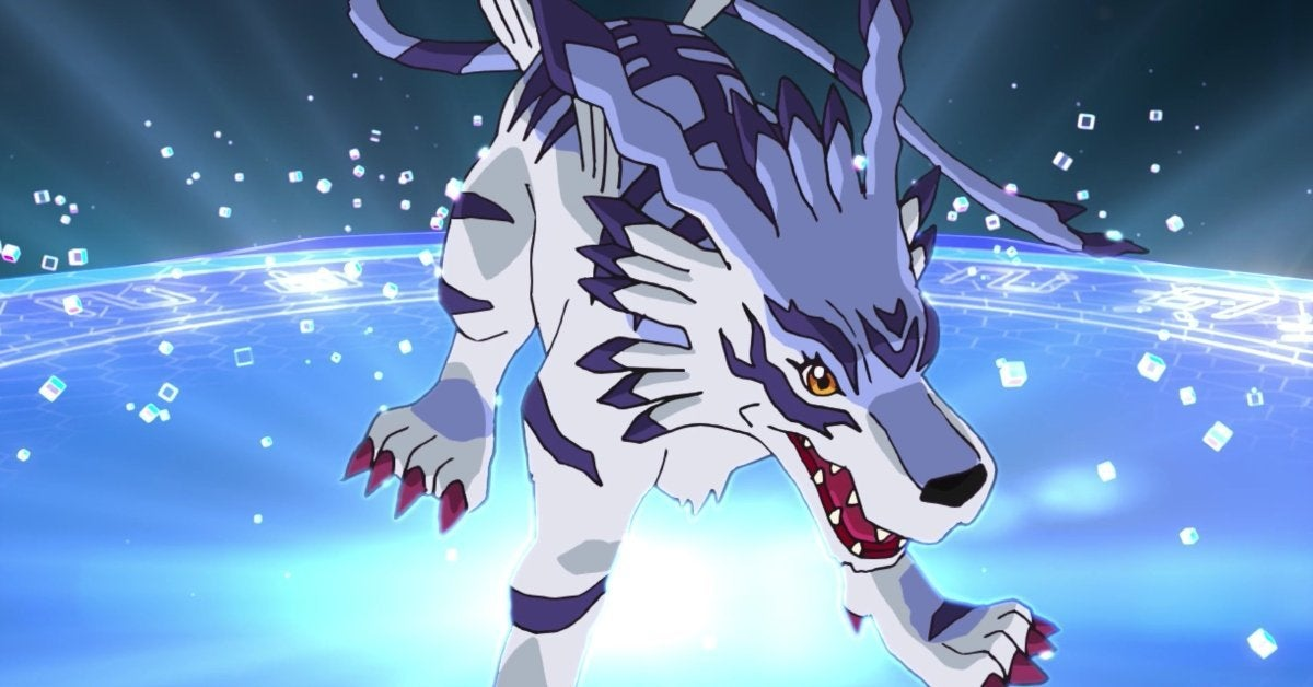 Digimon Adventure Reboot Gabumon Evolution Sequence Garurumon