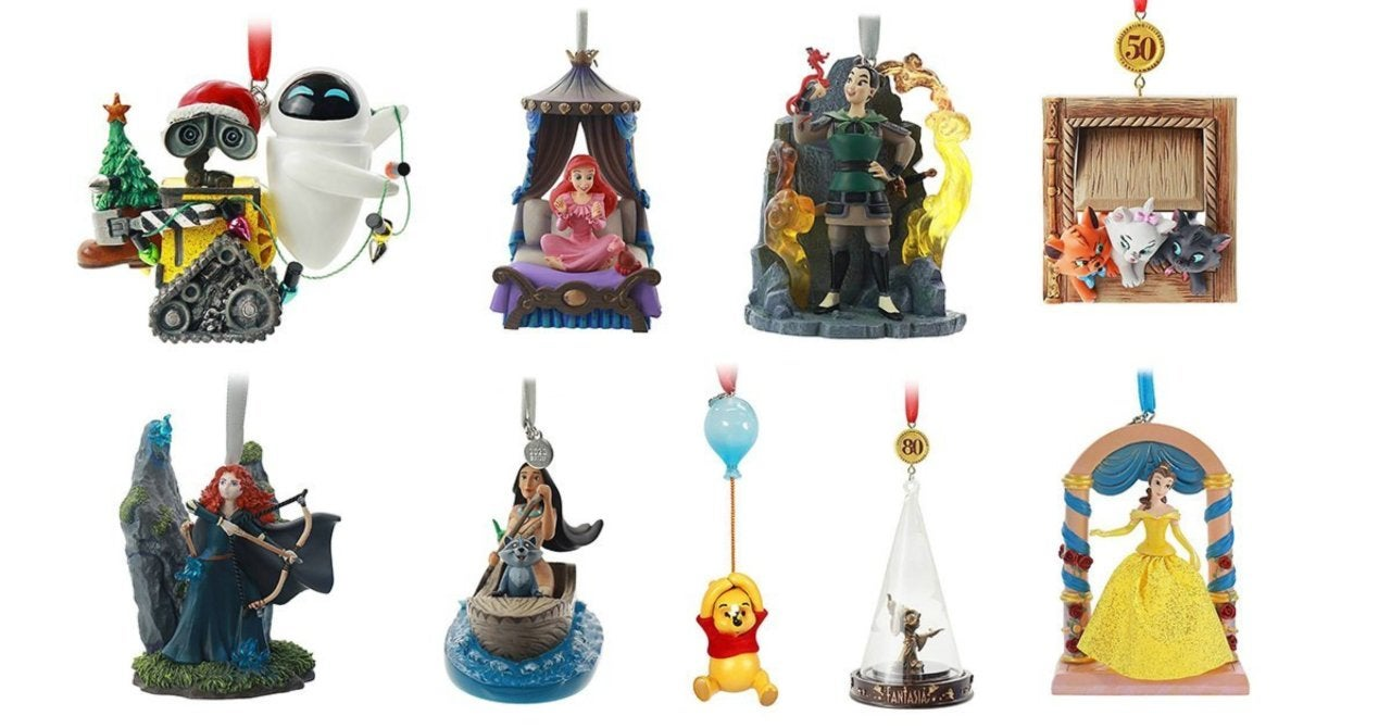 Disney 2020 Christmas Ornaments Disney and Pixar Ornaments For Christmas 2020 Are Live