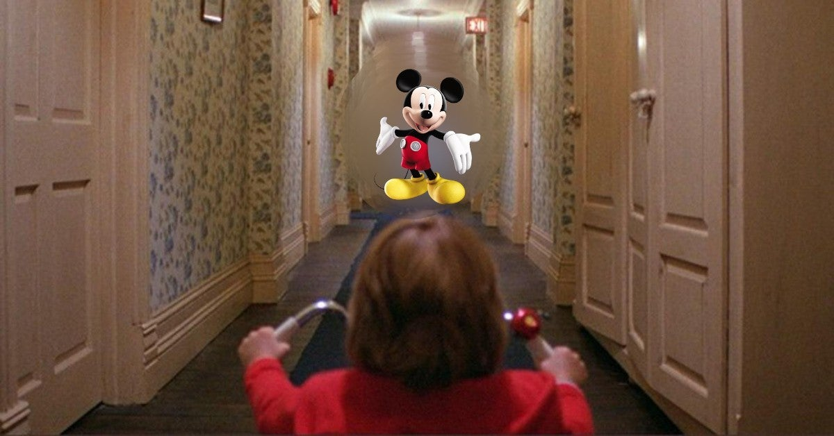 Disney World Welcome Back The Shining Mashup Video