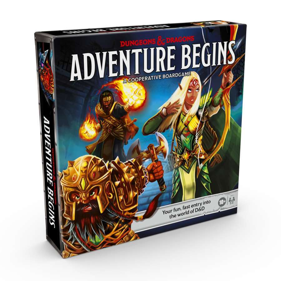 Dungeons & Dragons Launches the Adventure Begins Board Game