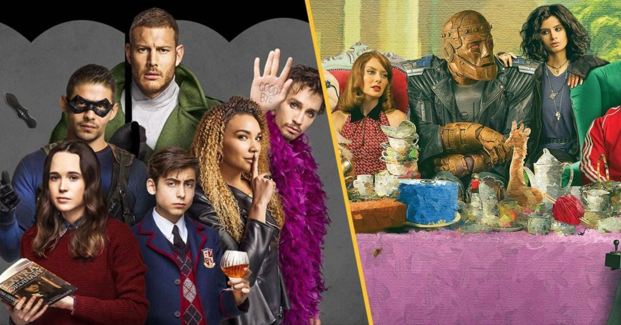 DC Universe's Doom Patrol Has Perfect Response to The Umbrella Academy Season 2 Trailer