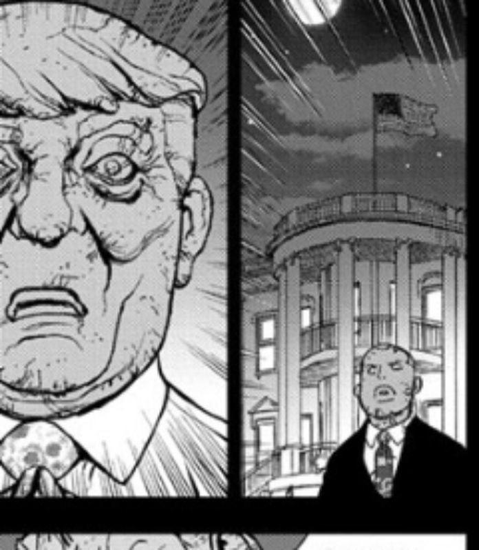 Dr Stone Donald Trump Manga Cameo
