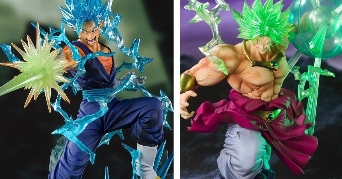 dragon ball figures sdcc gogeta broly