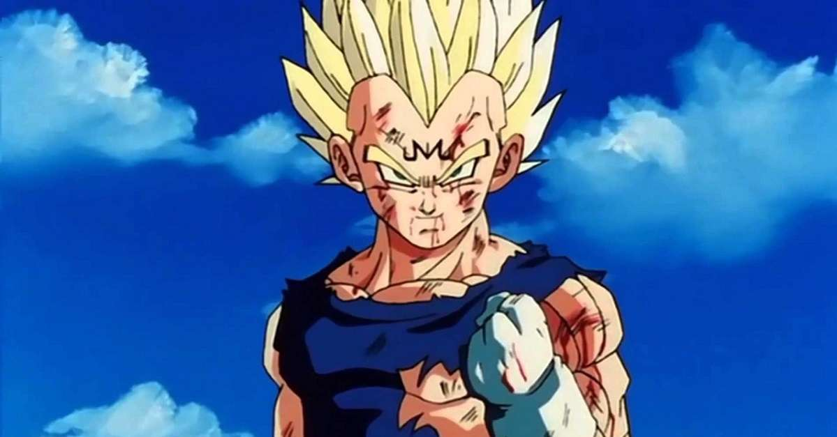 Dragon Ball Majin Vegeta