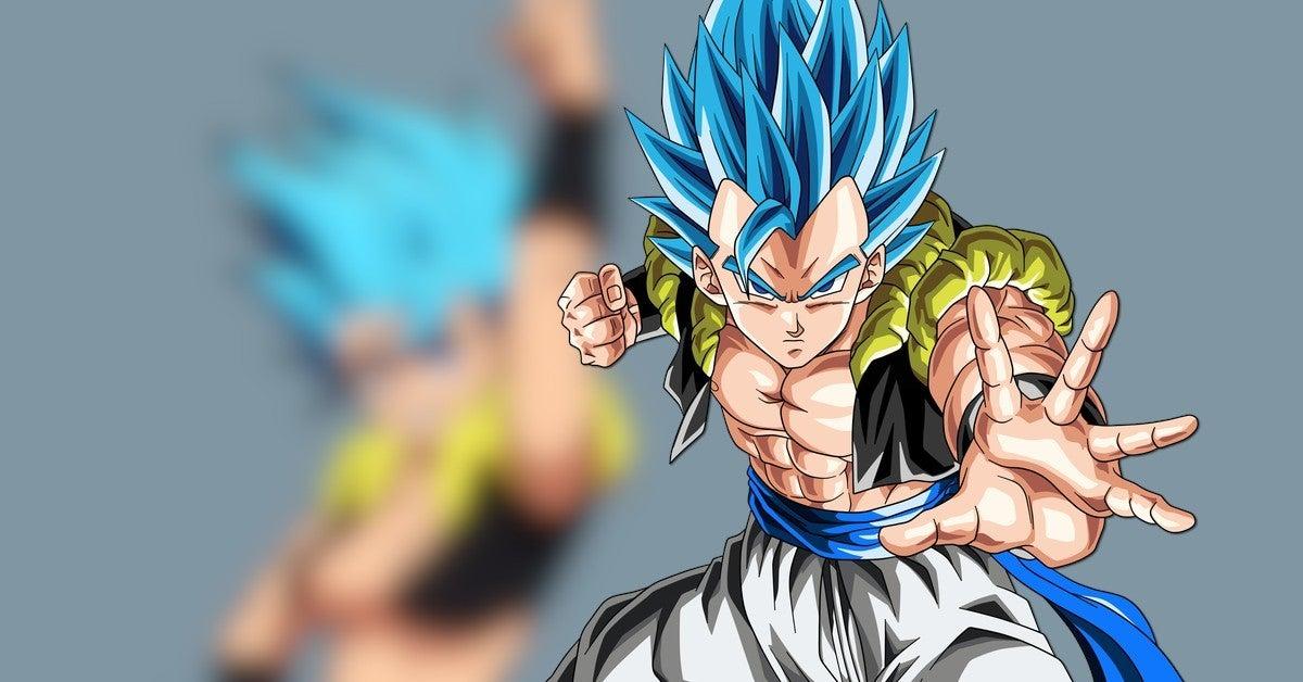 Dragon Ball Super Female Gogeta Artwork Super Saiyan Blue