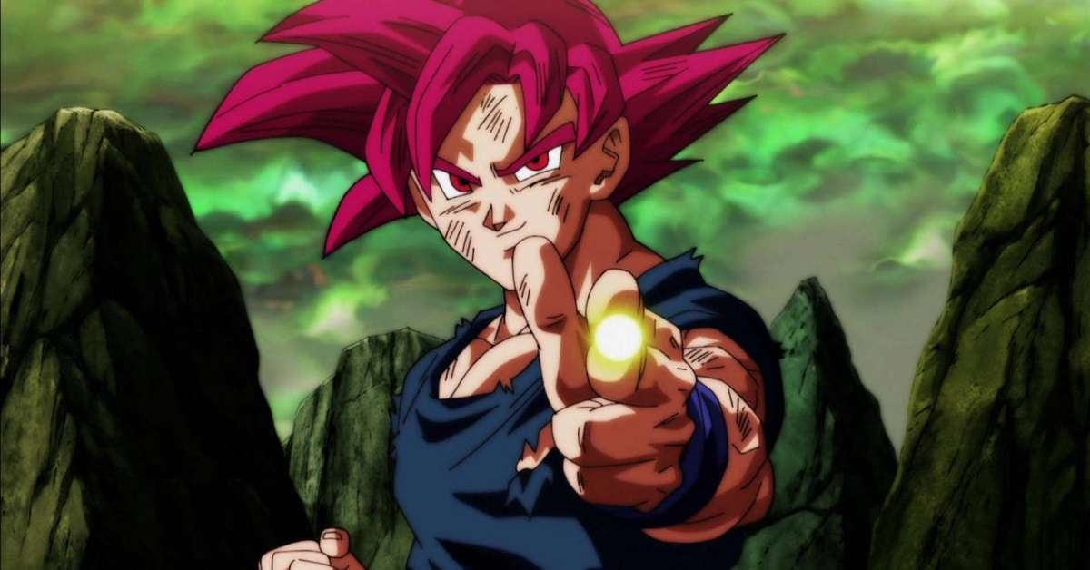 Dragon Ball Super God Goku Redraw