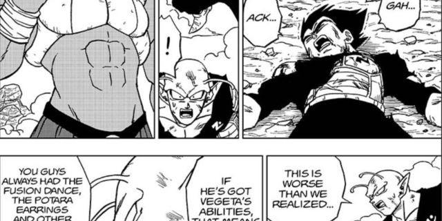 Dragon Ball Super Manga 62  Error Piccolo Spirit Fission Rules Fusion