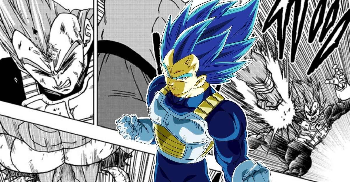 Dragon Ball Super Manga Moro Punts Vegeta