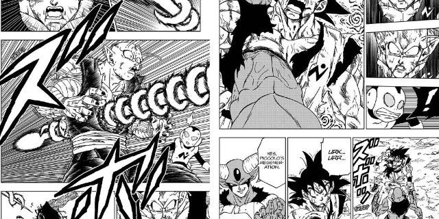 Dragon Ball Super Moro Kills Goku Piccolo Death Manga 62
