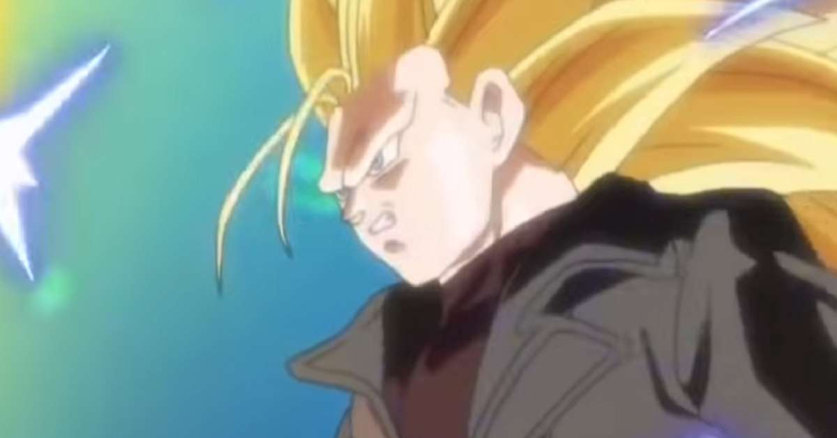 Dragon Ball Super Saiyan 3 Trunks