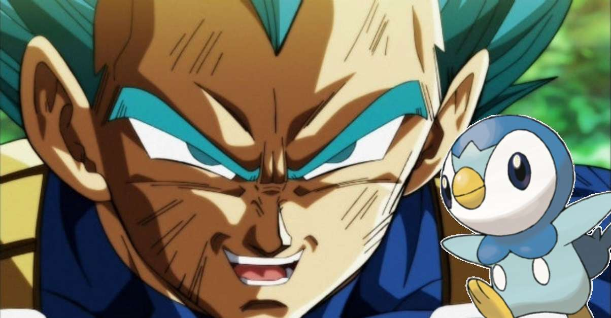 Dragon Ball Vegeta Pokemon Art