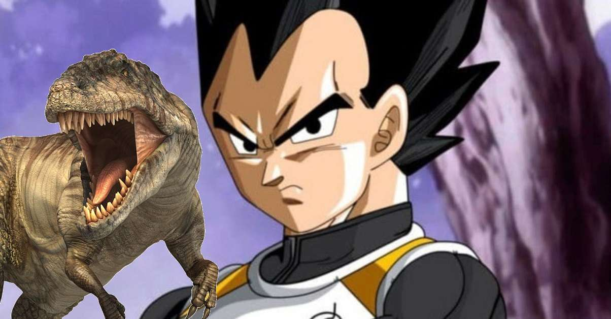 Dragon Ball Vegeta Prehistoric