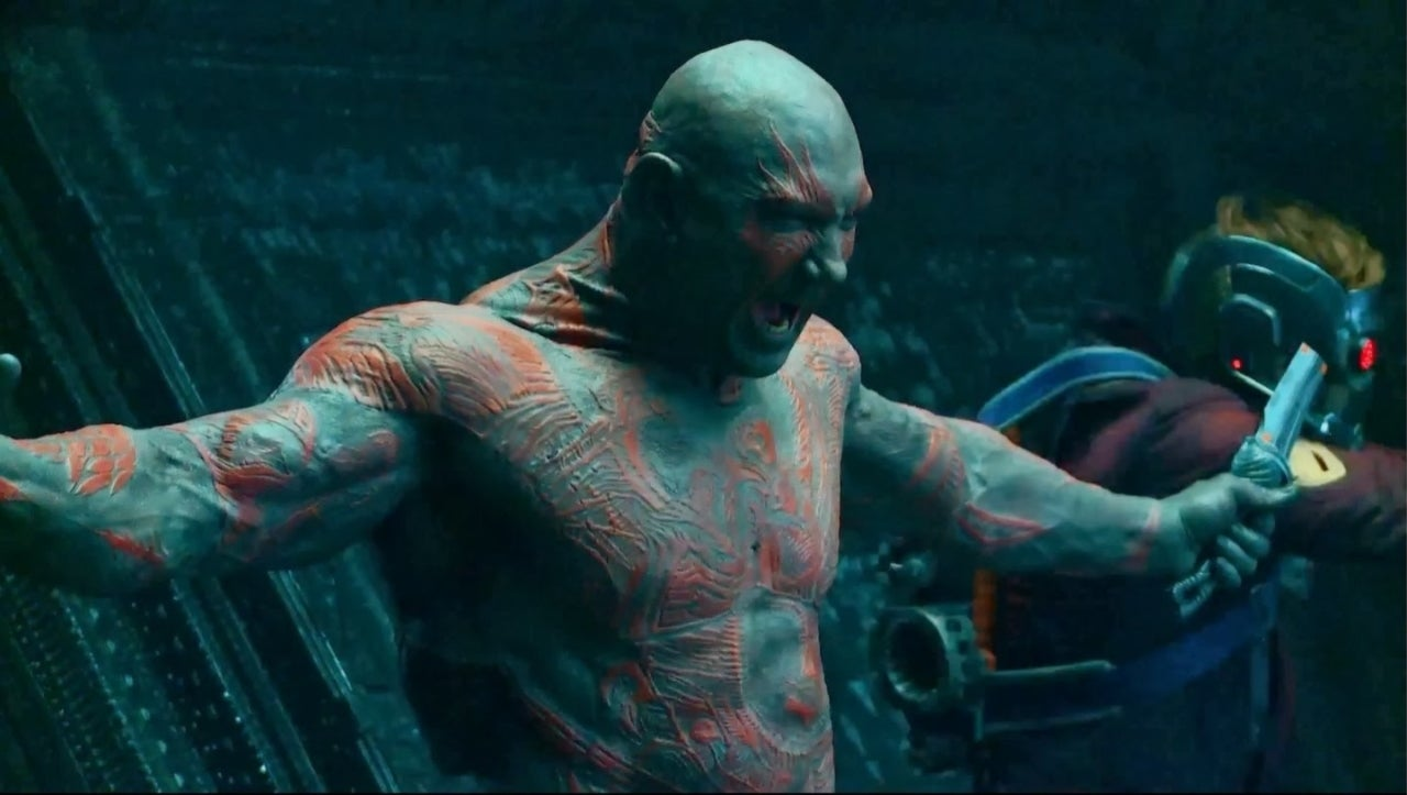 Guardians of the Galaxy: James Gunn Reveals Interesting Fact About Dave Bautista's Drax Costume
