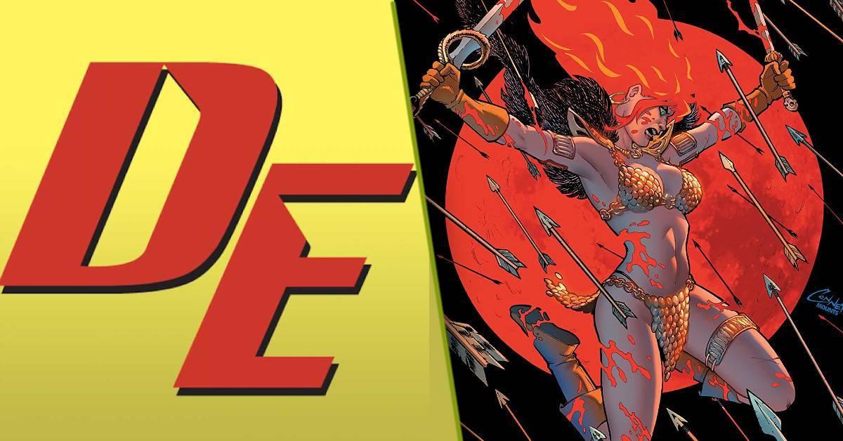 Dynamite Entertainment Comicsgate Red Sonja Mark Russelljpg
