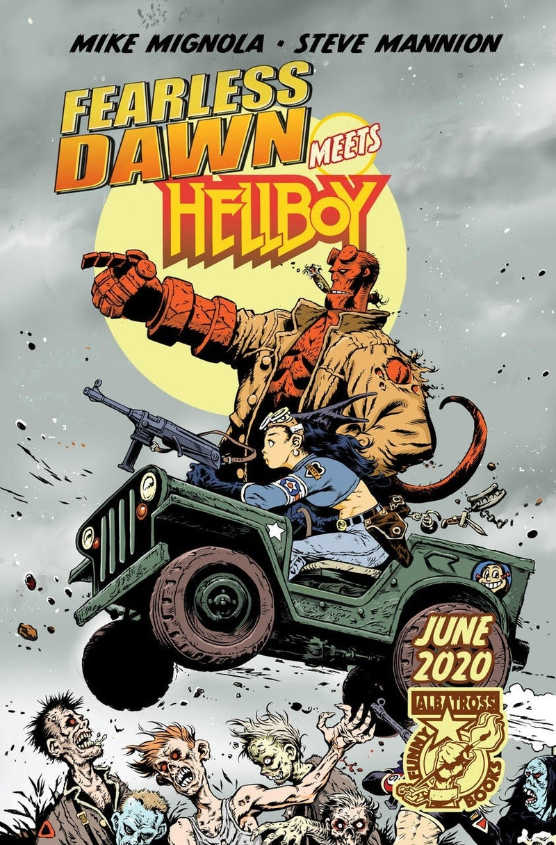 fearless dawn hellboy cover 1