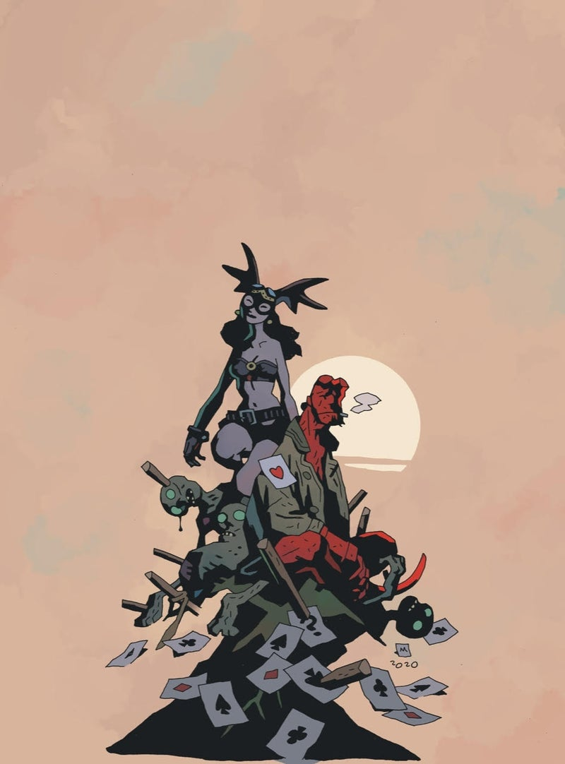 fearless dawn hellboy cover 2