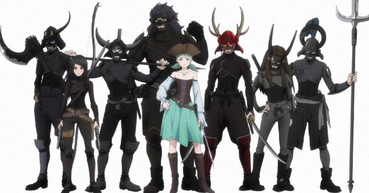 Fena Pirate Princess Adult Swim Crunchyroll Original Production IG Anime
