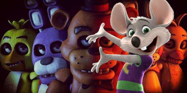 five nights at freddys chuck e cheese
