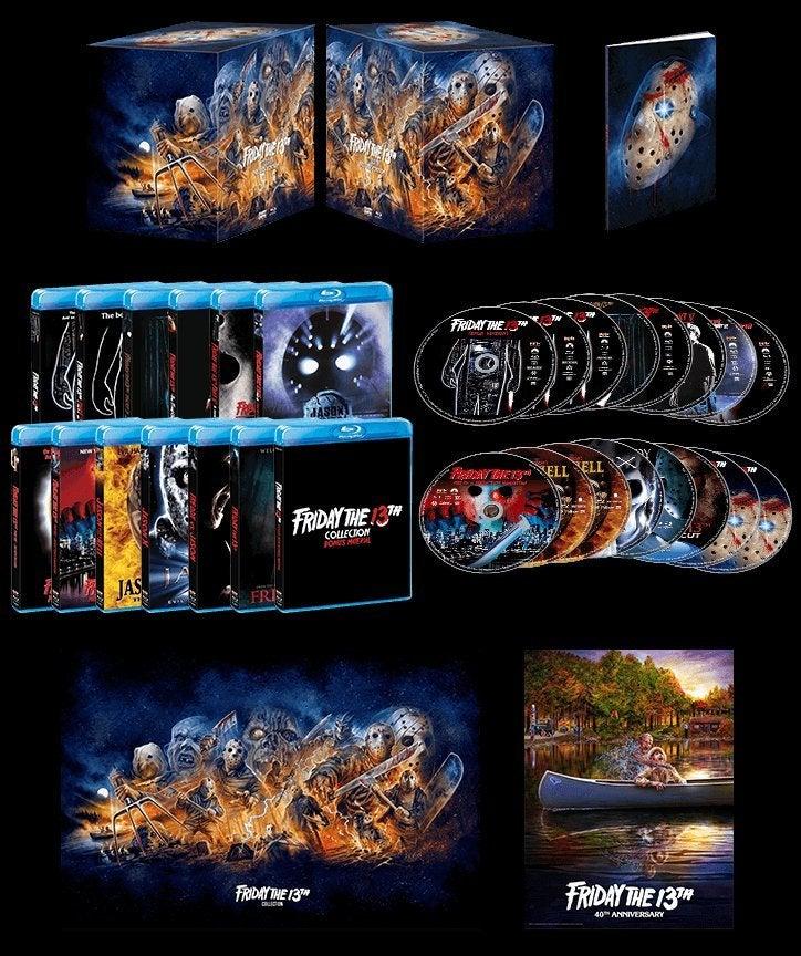 friday the 13th scream factory box set