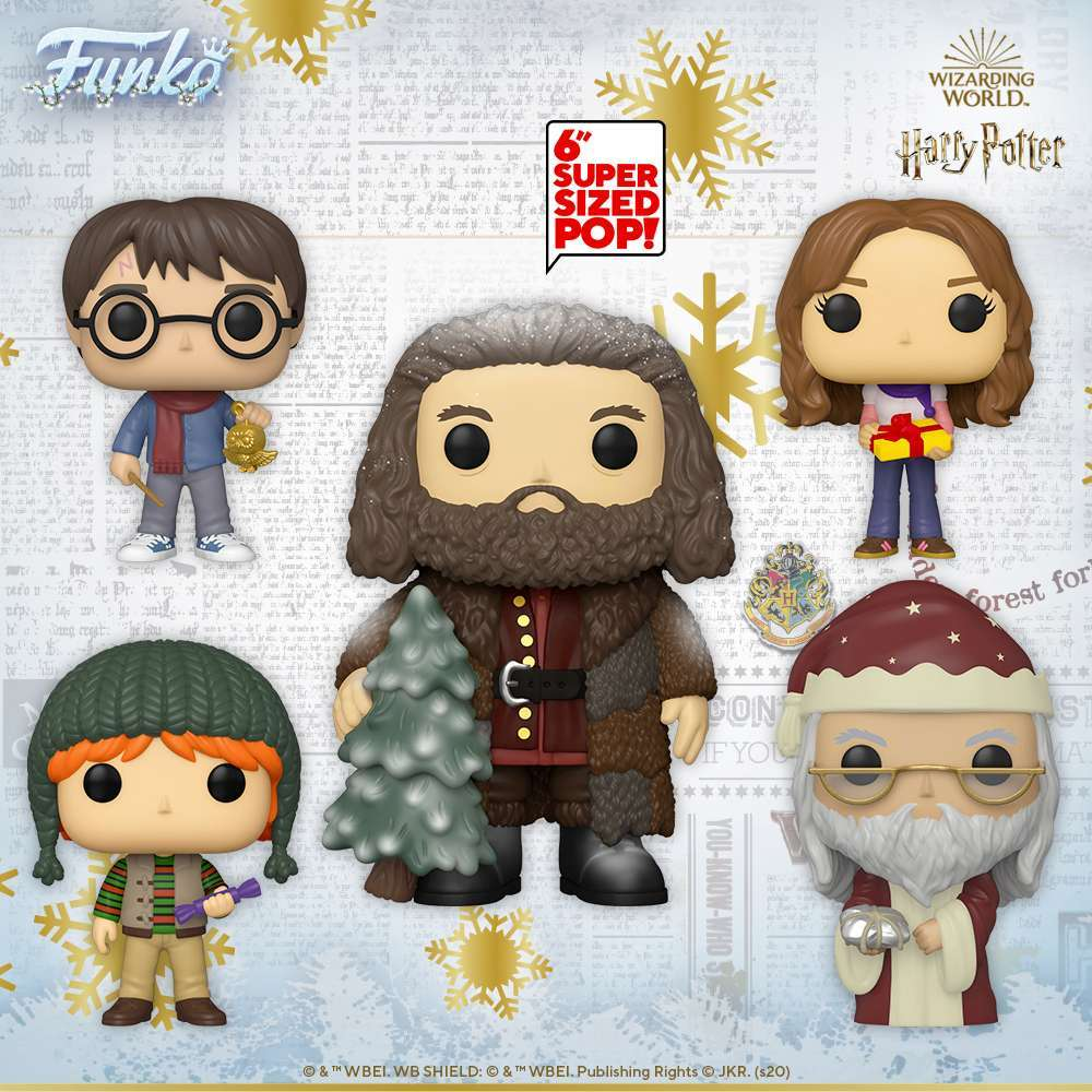 Christmas Funko Pop 2020 Harry Potter Funko Pop Advent Calendar for Christmas 2020 Launches
