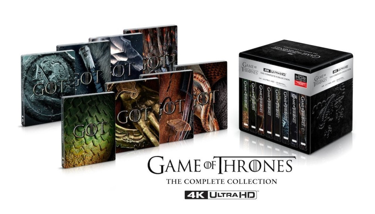 Game of Thrones: The Complete Series to Get 4K Release