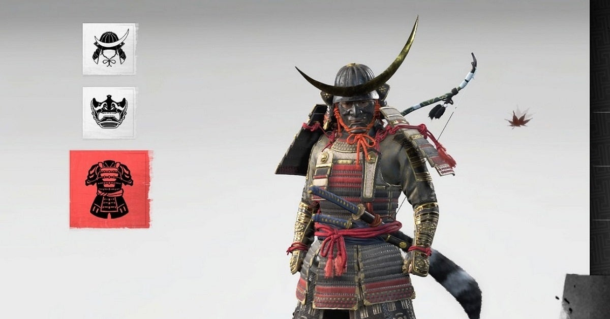 Ghost of Tsushima Samurai Armor
