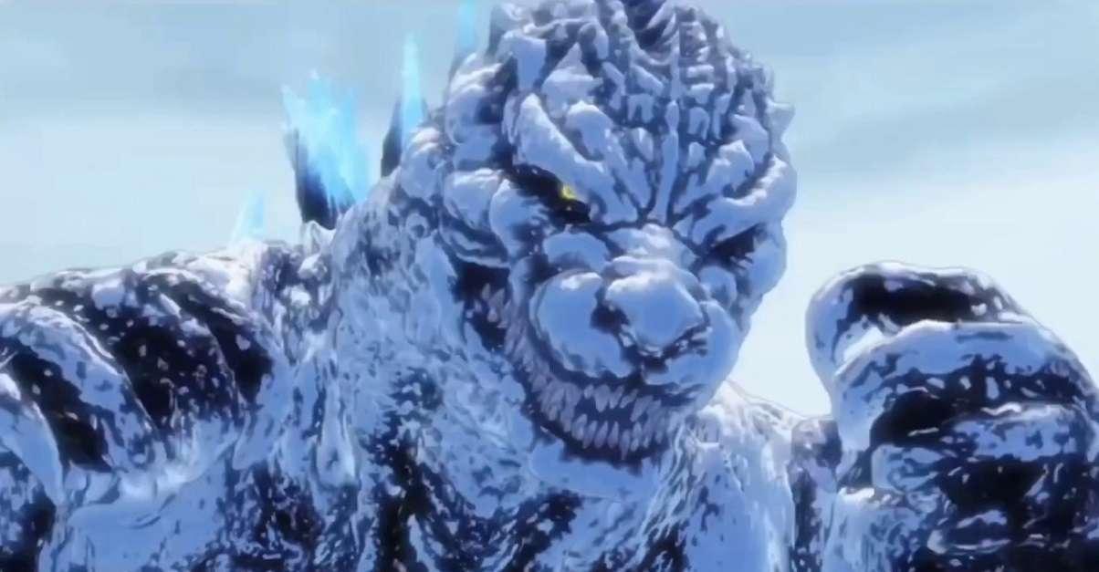 Godzilla Anime Cameo