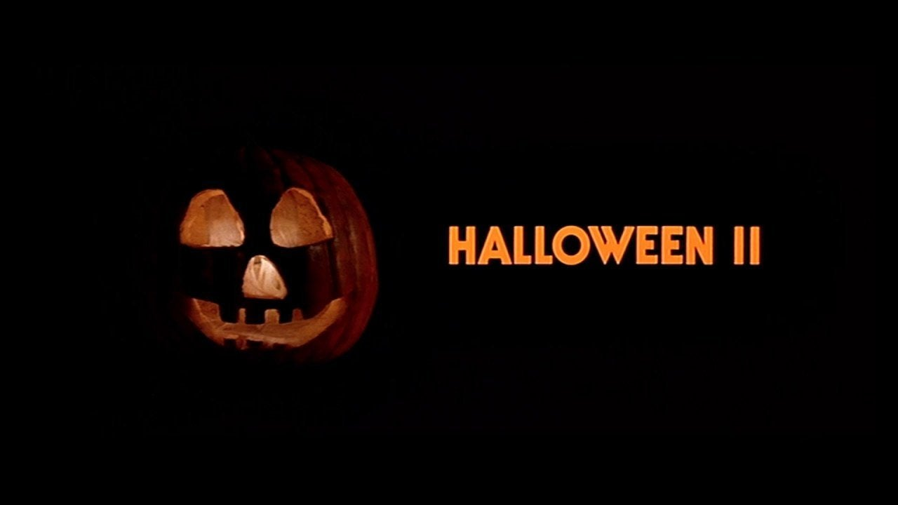 halloween ii opening credits pumpkin jack o lantern