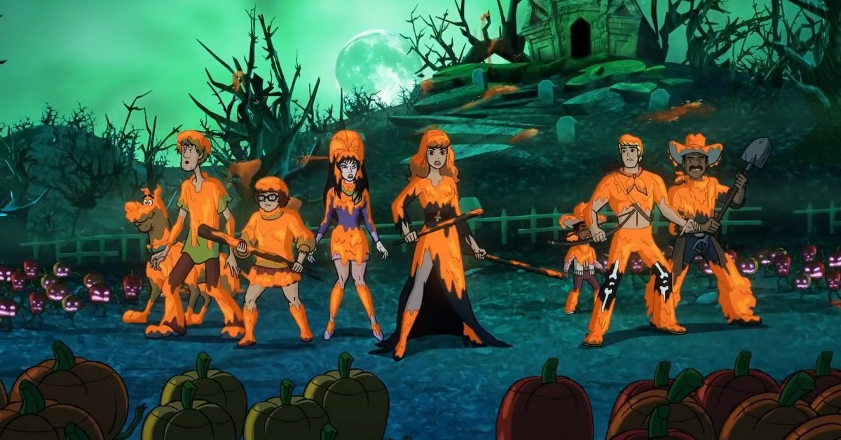 happy halloween scooby doo trailer elvira
