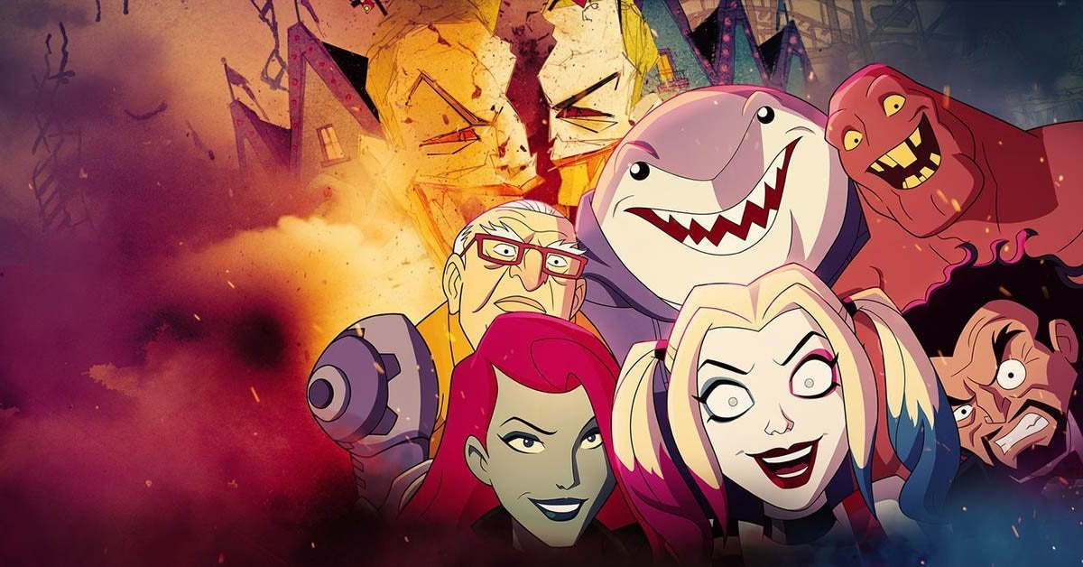 harley quinn coming to hbo max