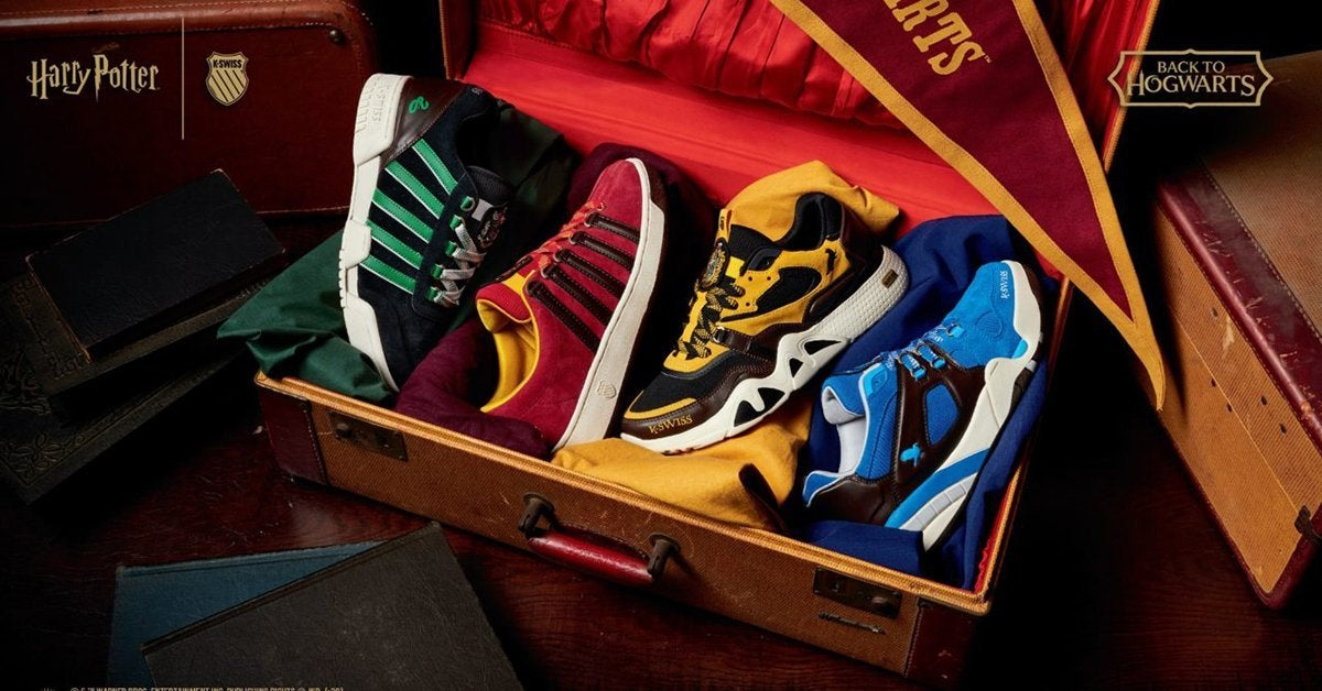 Head Back to Hogwarts With the Harry Potter K-Swiss Sneaker Collection