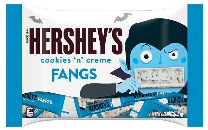 hersheys cookies n creme fangs