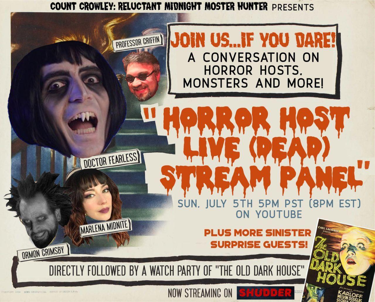 Horror Host Event Update