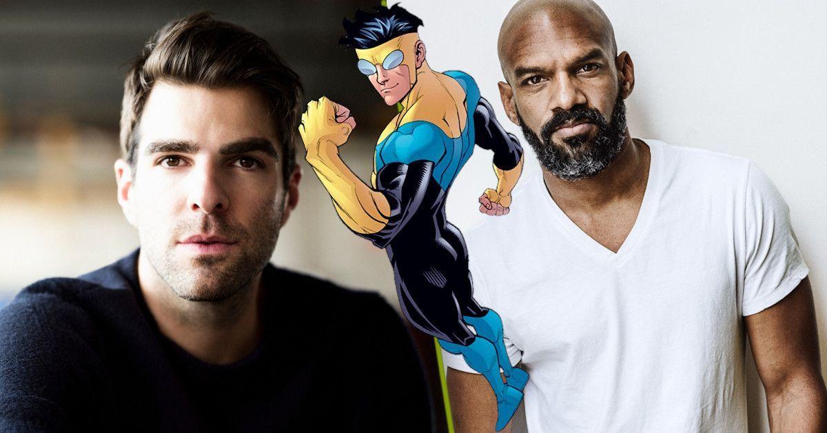 Invicible Animated Series Voice Cast Zachary Quinto Khary Payton