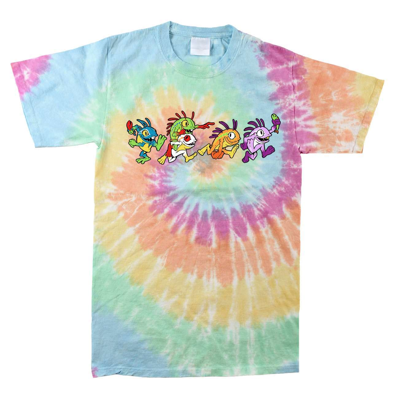 J!NX World of Warcraft Grateful Murlocs Tie Dye T-Shirt