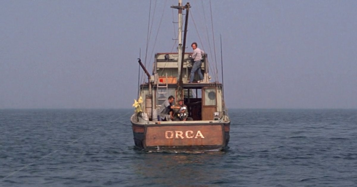 jaws movie boat orca