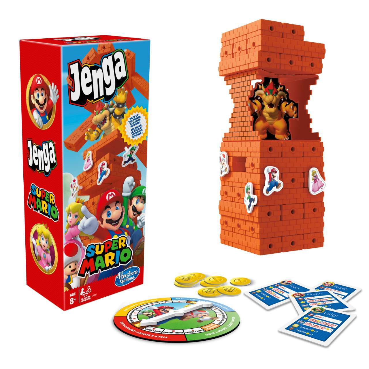 Jenga Super Mario_ Packaging and Game