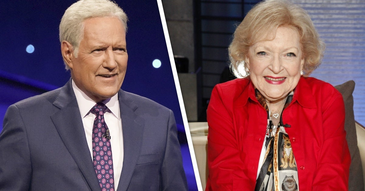 jeopardy! alex trebek betty white