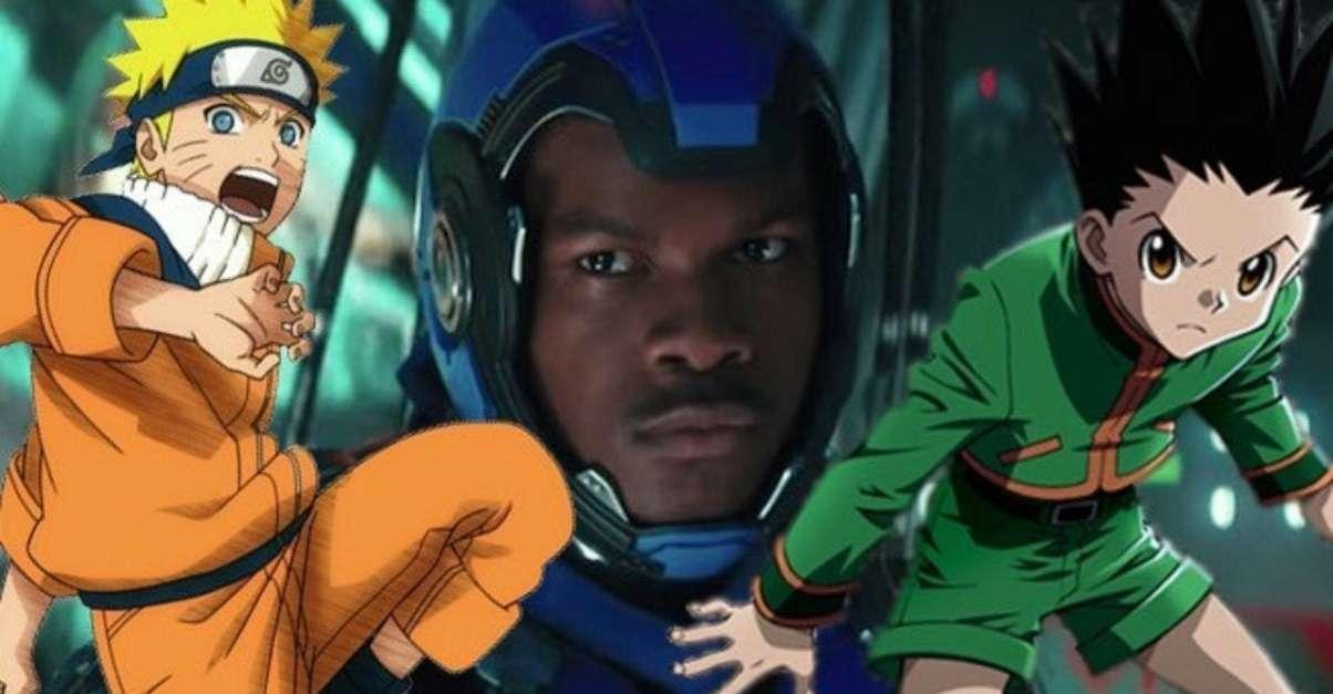 John Boyega Anime Makeover