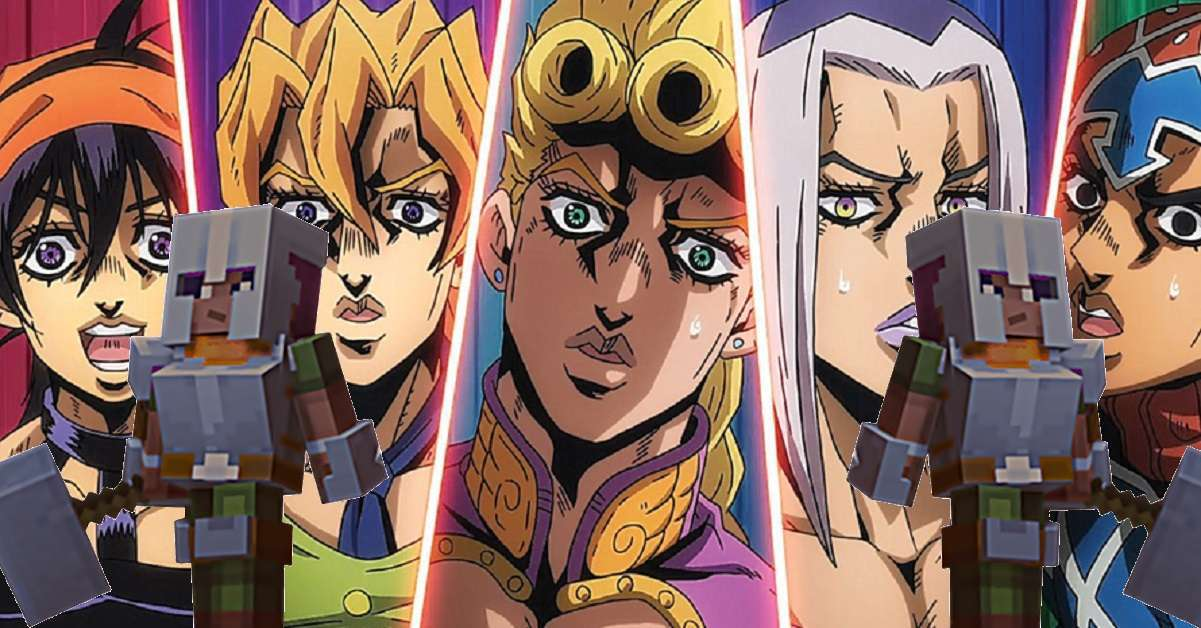 JoJo's Bizarre Adventure Golden Wind Minecraft