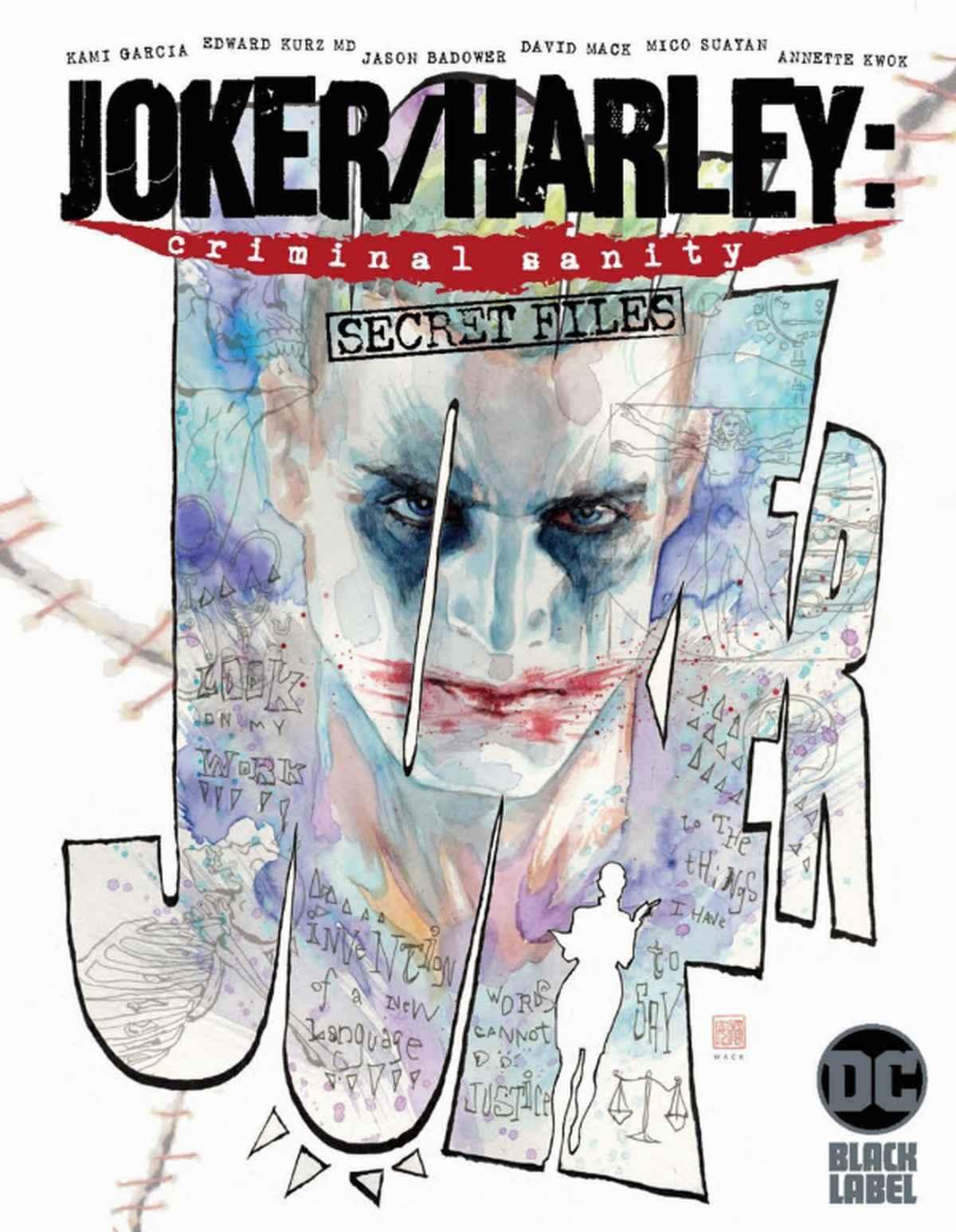 Joker Harley Criminal Sanity Secret Files #1