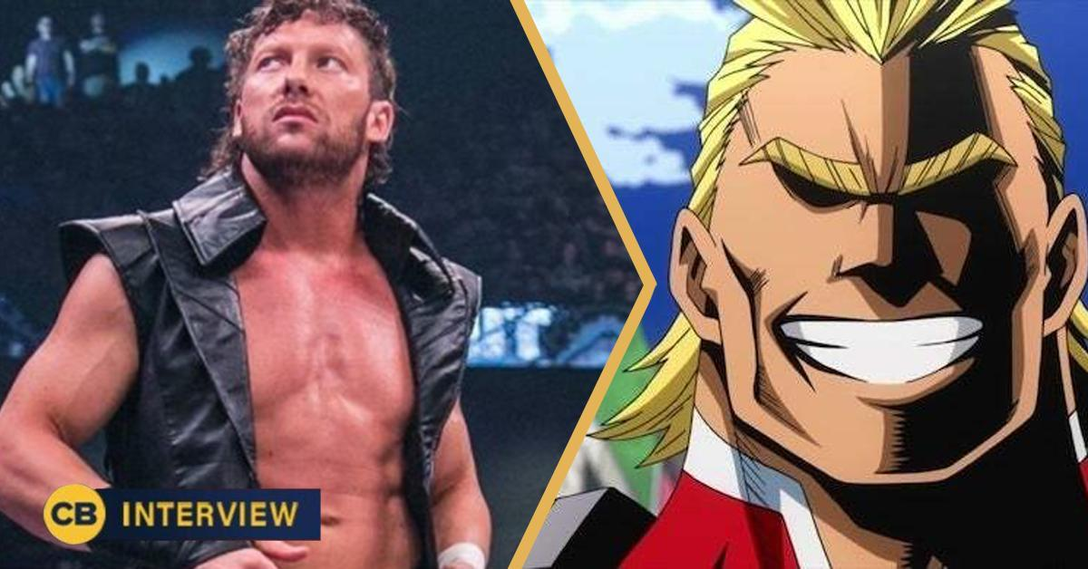 kenny omega all might my hero academia wwe