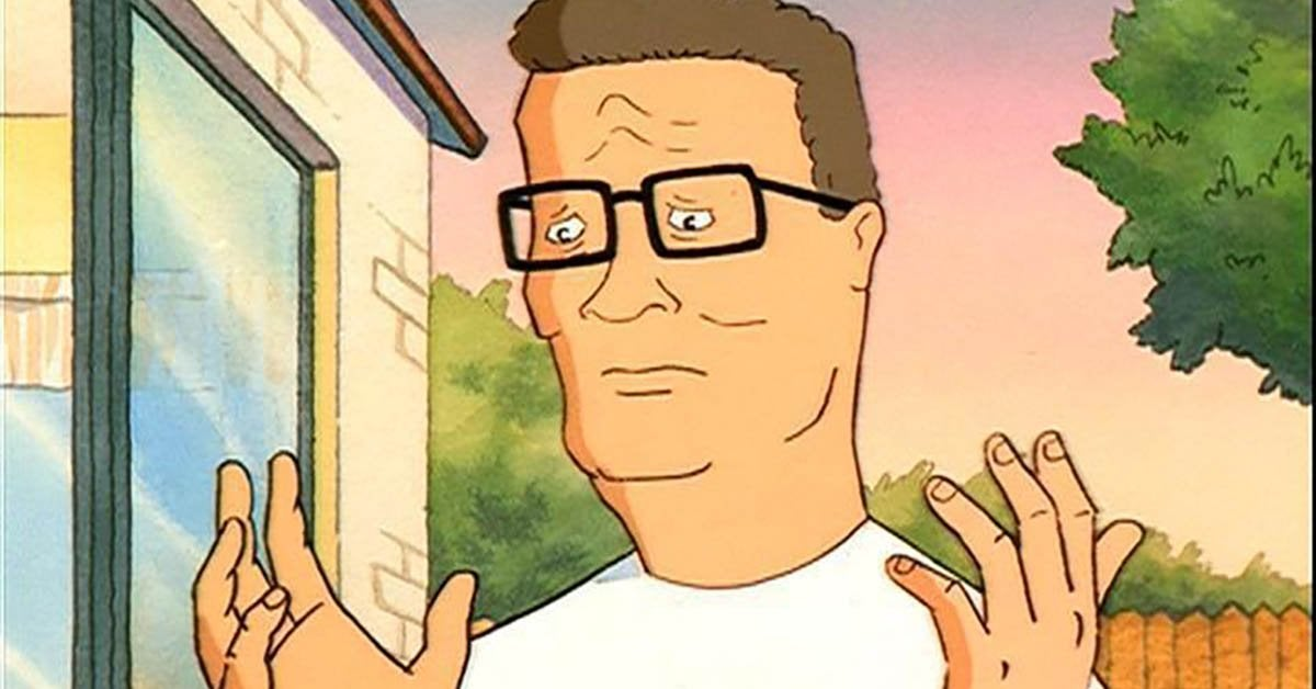 king of the hill hank hill trump voter